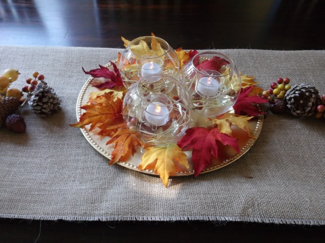 Tealight Centerpiece